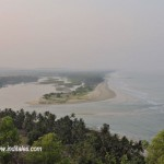 Beach and Backwaters in a single frame at Byndoor