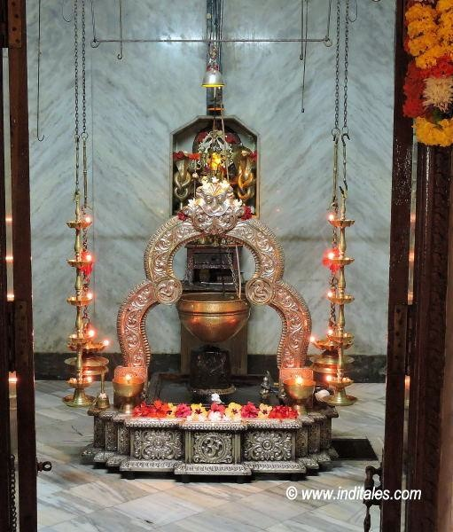 Shivalinga at Rudreshwar Temple, Arvalem, Goa