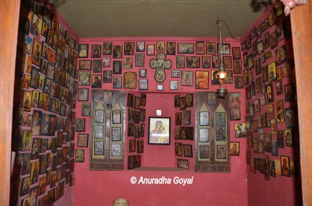 Chapel at Display at Casa Araujo Alvares - Heritage Houses of Goa