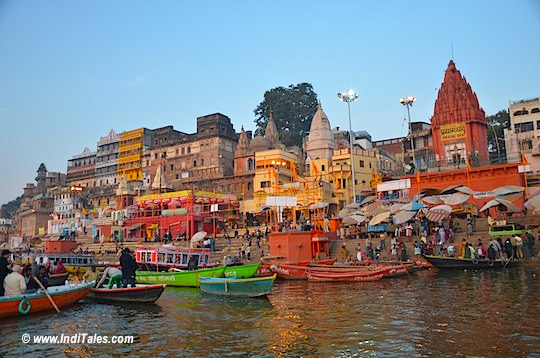 Ghats of Ganga in Varanasi