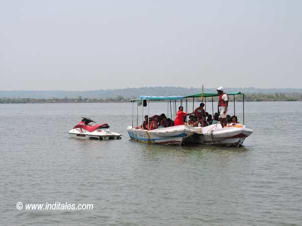 Boat Ride on Goa Backwaters