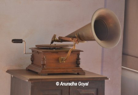 Heritage Musical instrument at Casa Araujo Alvares - Heritage Houses of Goa