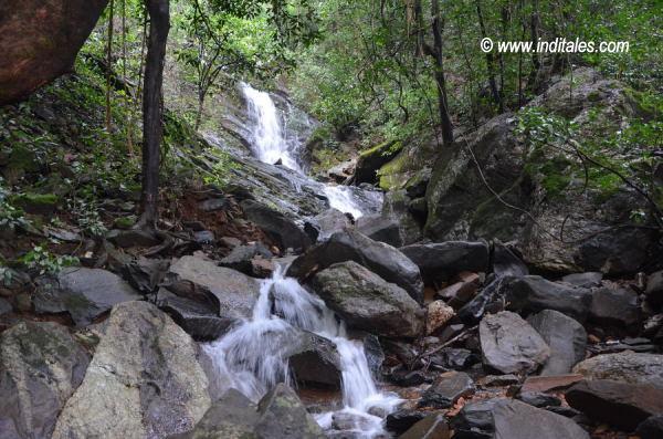 Kuskem Waterfalls step-wise fall