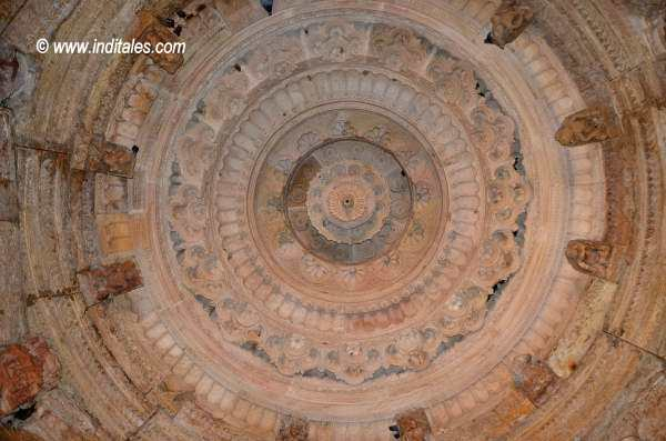 Carved Ceiling at Sun Temple, Modhera