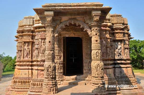 Sun Temple Main Building at Modhera