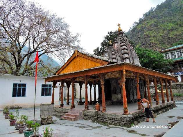 Narsingh Temple landscape view