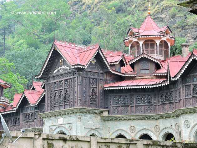 Top floor of Padam Palace at Rampur Bushahr Himachal Pradesh