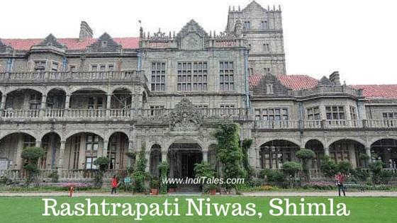 Rashtrapati Niwas or Viceregal Lodge or Indian Institute of Advance Study, Shimla