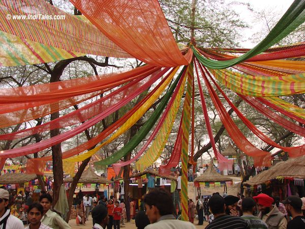 Colorful Surajkund Mela