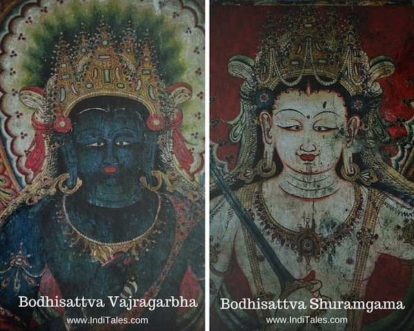 Bodhisattva Paintings at Tabo Monastery Main Hall