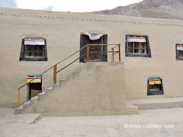 Walls of Tabo Monastery