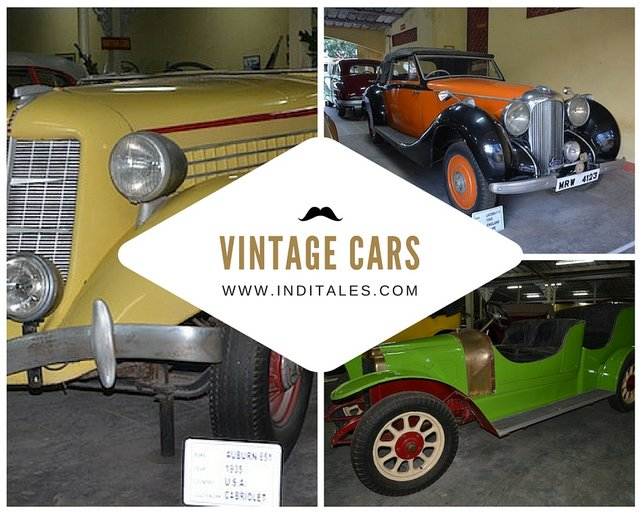 Vintage Cars at the Museum in Ahmedabad