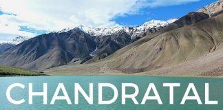Chandratal Lake Lahual Spiti Himachal Pradesh