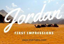 Visit Jordan First Impressions