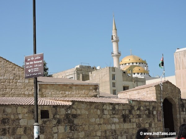 Church or Mosque? - from the streets of Madaba