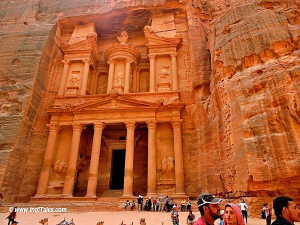 The face of Historical Jordan - Petra. Most visit Jordan for this heritage site