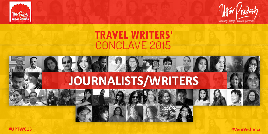 Travel Writers conclave poster