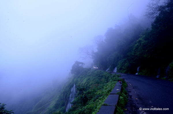 The Ghat road landscape view