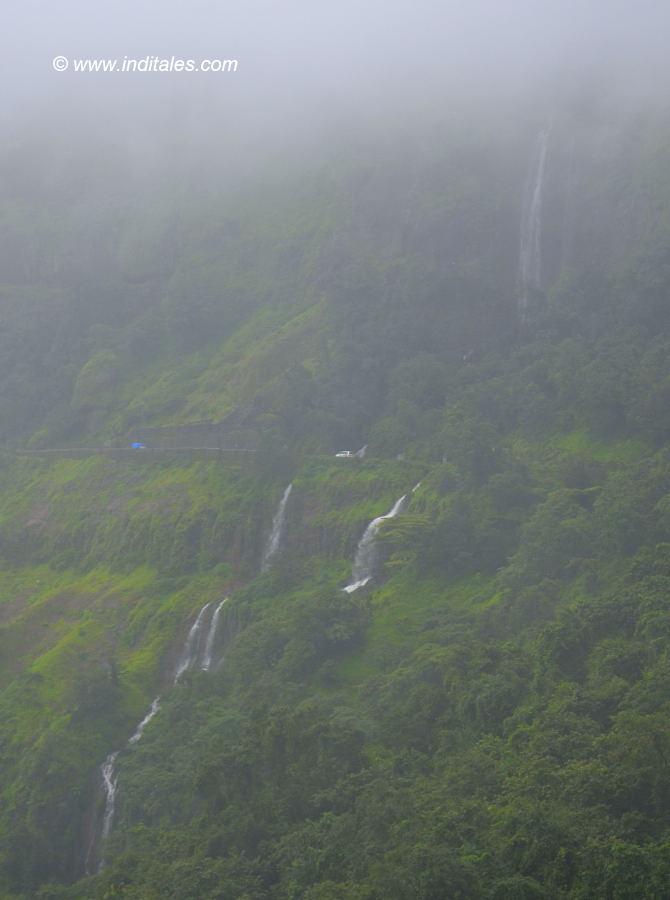 Amboli Ghat Waterfalls landscape