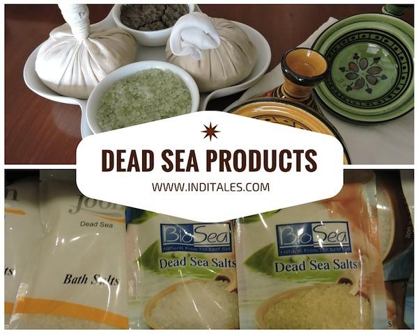 Dead sea products are a hot favorite and unique Jordan Souvenirs