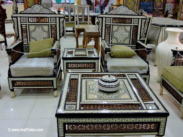Inlay work Furniture Jordan
