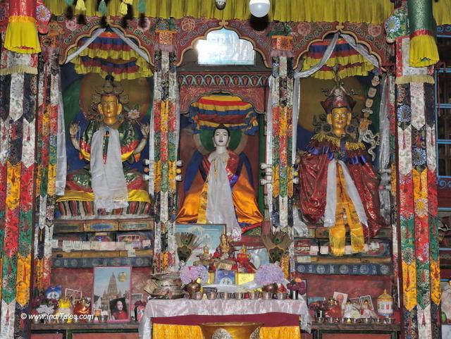 Buddhist Temple at Kalpa, Kinnaur, Himachal Pradesh