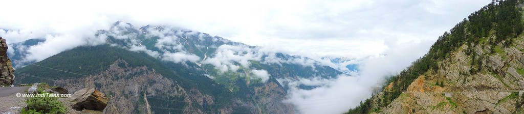 View from Suicide Point in Kalpa