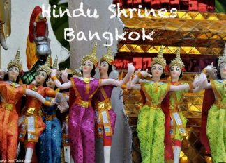 Hindu deities shrines in Bangkok