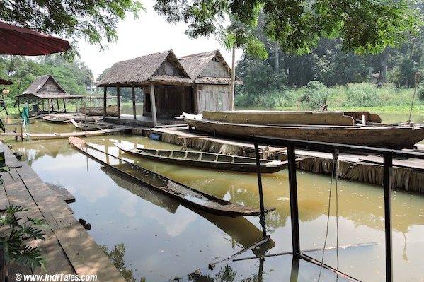 On the Banks of River Pa Sak , Saraburi