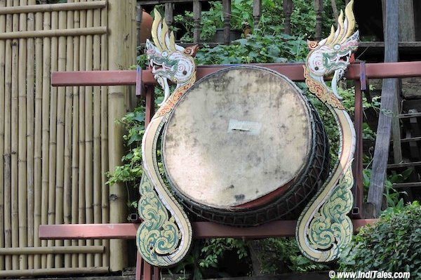 Traditional Drum played by Tai Yuan community