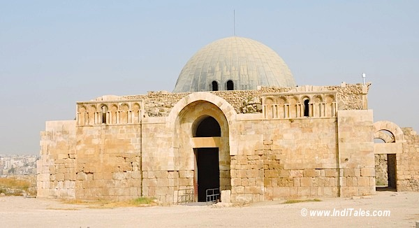 Gateway of Umayyad Palace at Amman Citadel Jordan