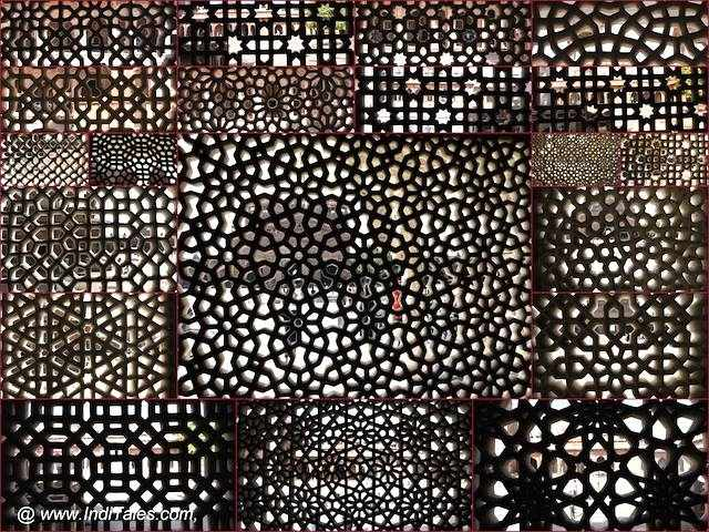 Jaali Patterns at Salim Chishti Dargah, Fatehpur Sikri