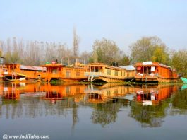 Houseboats on Nagin Lake, Srinagar