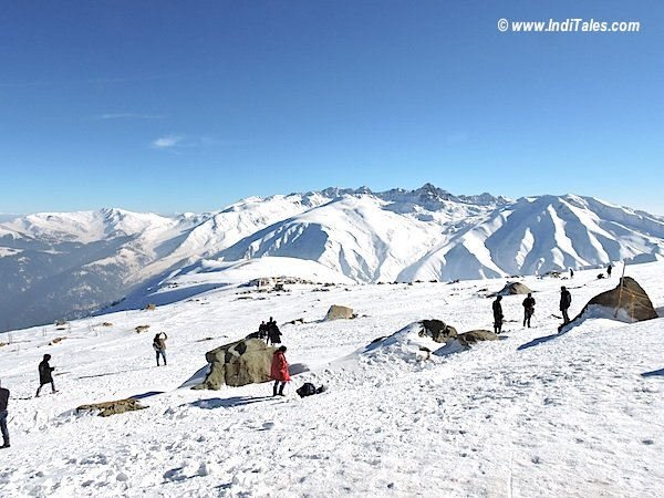 View after you land from Gulmarg Gondola