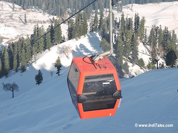 Gulmarg Gondola cable car