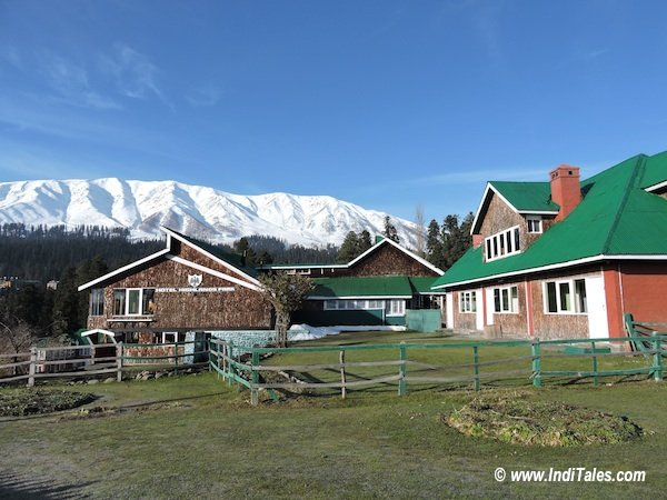 Iconic Gulmarg Hotel where Bollywood film Bobby was shot