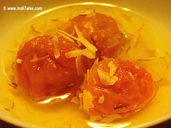 Apricot Dessert, Ladakh for the Vegetarians