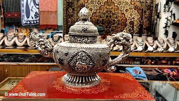 Traditional Tea Pot in Ladakh