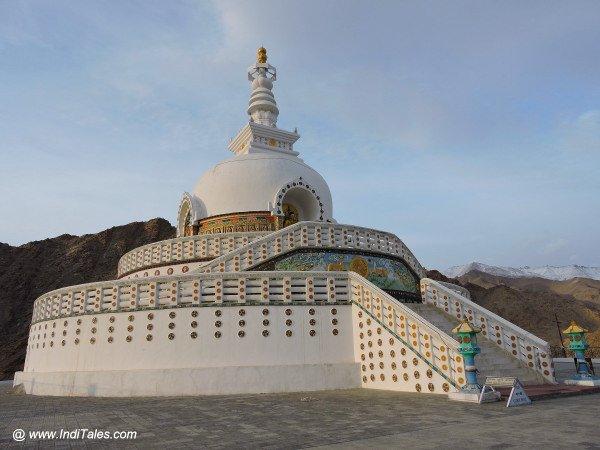 Shanti Stupa at Leh
