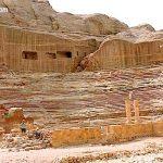 Roman Theatre at Petra Jordan