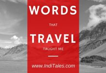 Travel words IndiTales