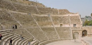 Amman Roman Theater Side View