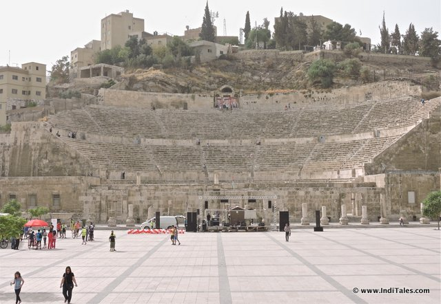 Landscape view of Roman Theater