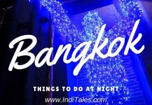 Things to do in Bangkok at Night