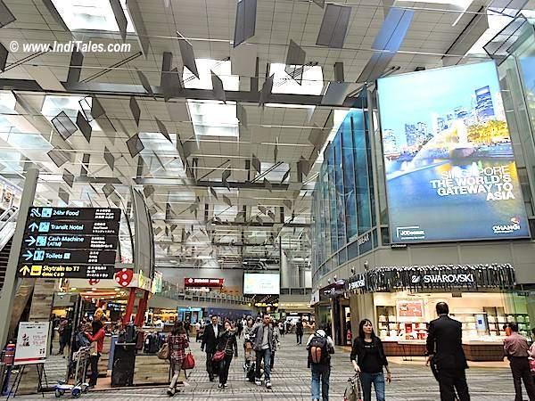 Changi Airport terminal