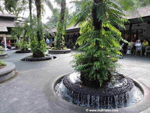Fountain or waterfall or tree - what would you call it?