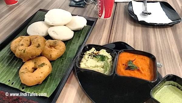 Vegetarian Food at Kaveri