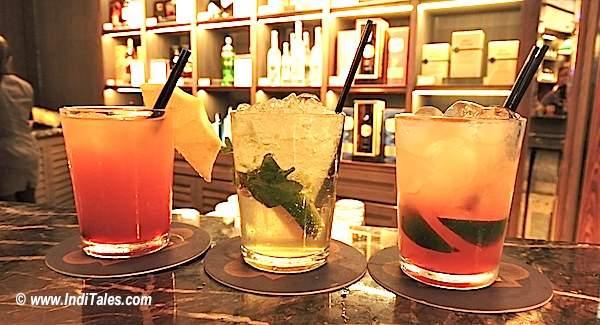 Mocktails at DFS/Raffles Bar