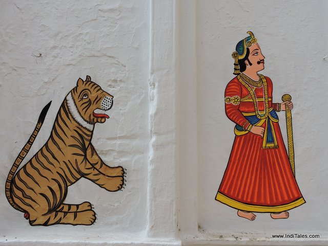Paintings on Walls of Nathdwara Town