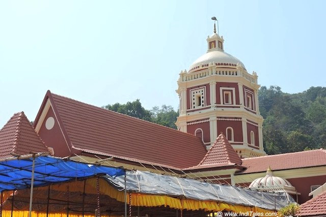 Dome of Shantadurga Temple, Goa